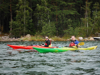 Kayaking the archipelago of Helsinki